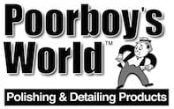 Poorboys World Mastic d/étanch/éit/é de roue avec applicateur et chiffon en microfibre