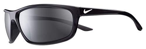 (Nike Men's Rabid Rectangular Sunglasses, ANTHRACITE/WHITE, 64)