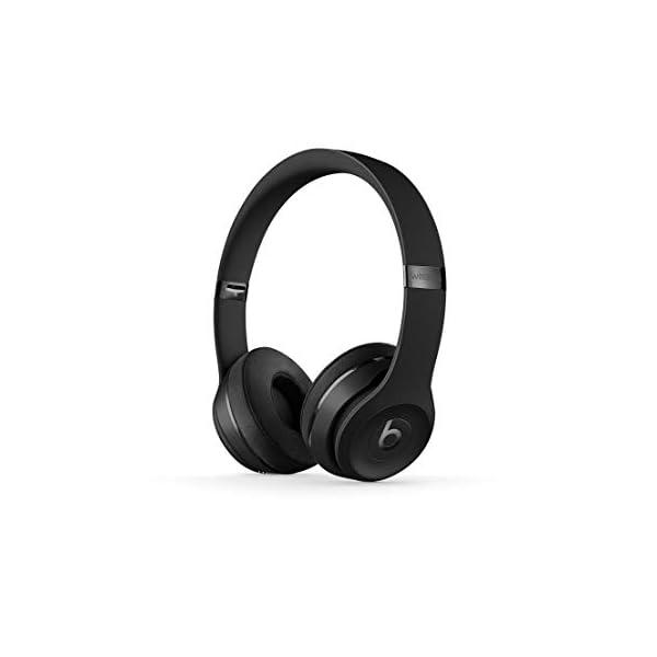 Beats Solo3 Wireless On-Ear Headphones - Matte Black 1