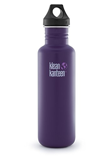 Klean Kanteen Berry Syrup Classic Water Bottle with Loop Cap