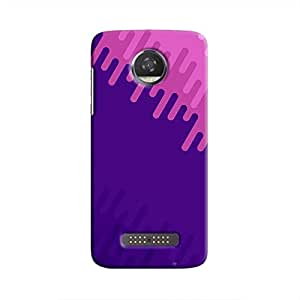 Cover It Up - Purple Pink Moto Z2 PlayHard Case