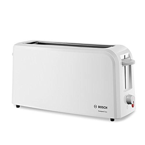 Bosch TAT3A001 Langschlitz-Toaster Compact Class, Frühstückset, weiss