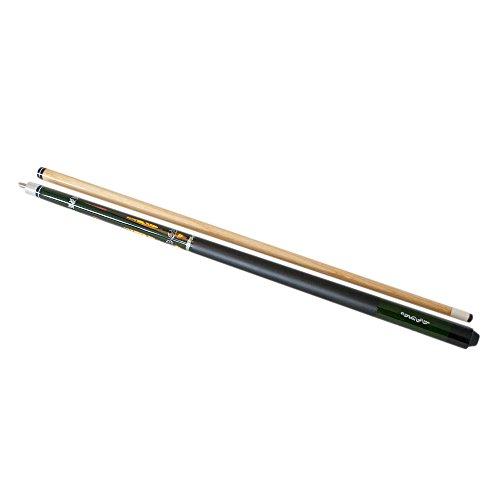 ToCi Billard Queue aus Holz | 146 cm lang | 2-teilig mit Schraubgewinde | diverse Designs zur Auswahl Modell 11