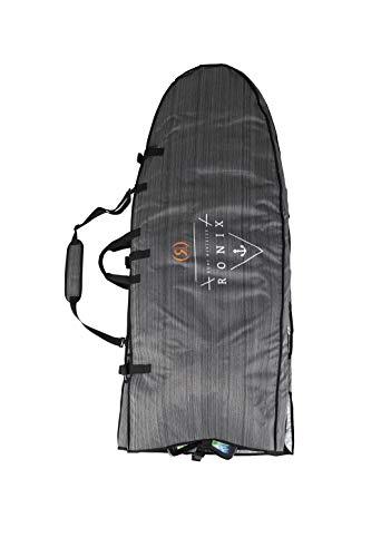 Ronix Bimini Top Board Bag - 4pc Surf Board Rack - Heather Grey/Orange