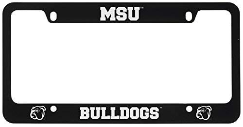 LXG, Inc. Mississippi State University -Metal License Plate Frame-Black ()