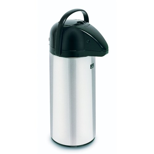 BUNN 10-Cup Push Button Airpot Coffee/Tea Dispenser Stainless-Steel 13041
