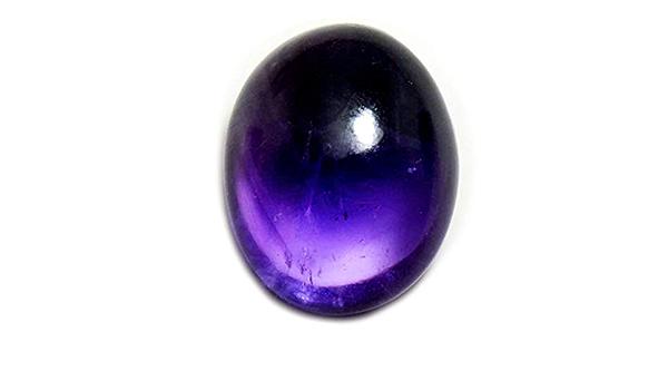 42x30x6 mm Star Amethyst Cabochon  High Quality Star Amethyst Trapiche Gemstone  Oval Shape  69.00 Ct Loose Gemstone  I-869