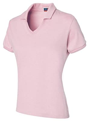 Jerzees 337W Ladies Jersey Knit Polo with Stain Resist