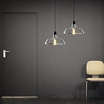 Amazon.com: foco incluida colgante, 1 luz, estilo americano ...