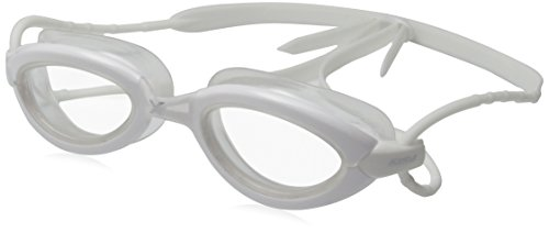 2XU Stealth Clear Goggles, White, One Size Fits - Triathlon Swim Goggles 2014 Best