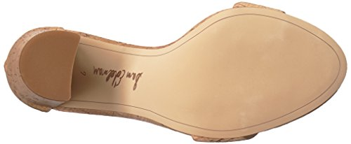7 UK Edelman Women's Sandal Natural Sam Yaro Heeled CYd0Ypx