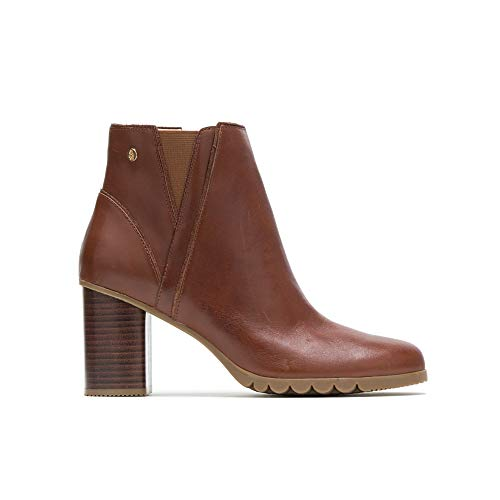 Hush Puppies Spaniel Ankle Boot Women 8.5 Dachshund Leather