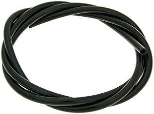 2,5x5mm /Ölleitung//Unterdruckschlauch CR schwarz 1m