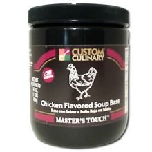 Chicken Base Recipes - Low Sodium Chicken Flavored Soup Base- 1 lb. Jar