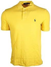 Men's Classic Fit Mesh Polo Shirt