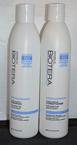 Biotera Hypoallergenic Ultra Gentle Shampoo & Conditioner 15.2oz each (2 pack)