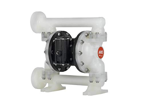 "PD10P-YPS-PTT - ARO Pumps 1"" Non-Met Dia Pump ARO Pumps Diaphragm Pump, 1"" Expert Series, Polypro Center Section, ANSI/Din Flange/Fluid Conn/Location, Cap/Manifold, SS Hardware, Seat, TFE Teflon Ball, Santoprene Diaphragm"