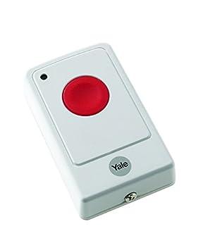 Yale inalámbrica alarma de pánico Botón Compatible con Yale ...