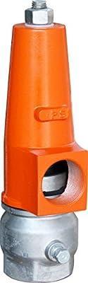 "IrrigationKing RKP-2 Pressure Relief Valve 22-80 PSI Orange Cover, 2"" by IrrigationKing"