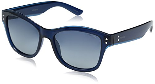 Polaroid Sunglasses Women's Pld4034s Wayfarer, Blue/Blue Gradient Polarized, 54 - 4034 Sunglasses