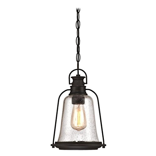 Glass Pendant Light With Chain - 1