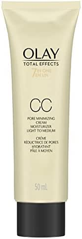 Olay Total Effects Pore Minimizing Cc Cream Light To Medium, 1.7 Fl Oz  Packaging may Vary