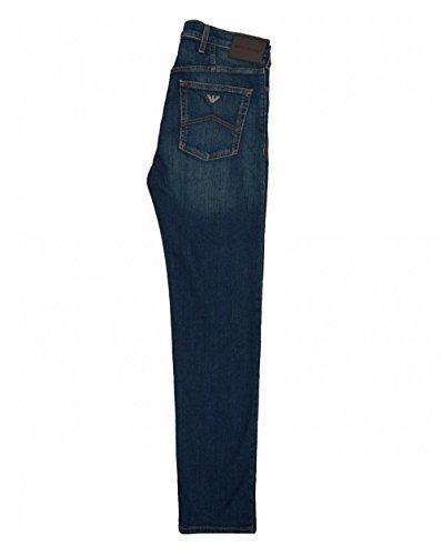 J21 Blue Regular Armani Fit Jeans Wash dwA0x4nqx