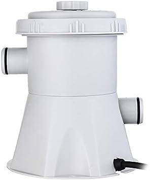 GHFHH Pompe de Filtre /électrique Pompe de Filtre de Piscine Kit de Pompe de Piscine Eau Propre Accessoires clairs Outil de Nettoyage de Filtre de Piscine Hors Sol