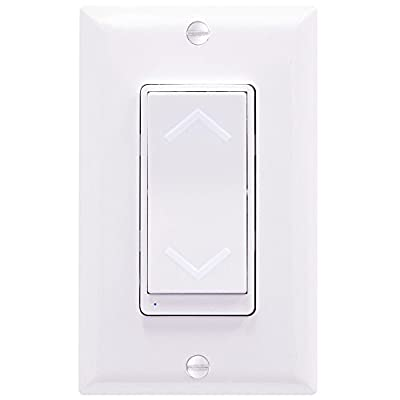 Enerwave Z-Wave Wireless Control Smart Outlet, Dimmer, Switch