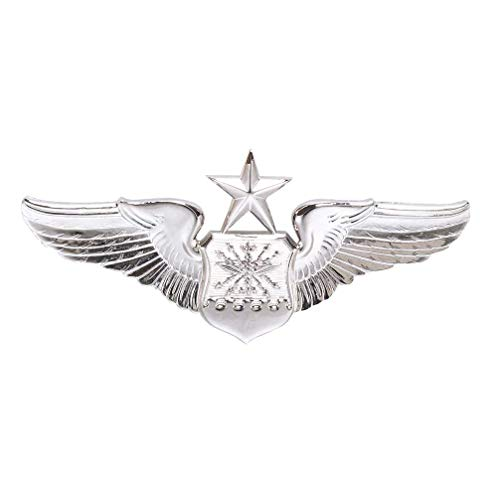 Medals of America Air Force Senior Navigator Wings Badge Mirror Finish