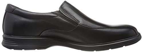 Rockport Dressports 2 Lite Bike Slipon, Mocasines para Hombre Negro - Schwarz (BLACK Lea)