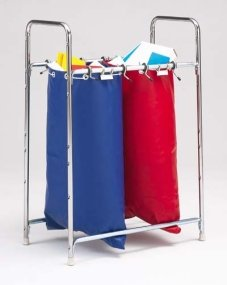 Charnstrom Stationary 2 Bag Holder Mailbag Rack (MB42)