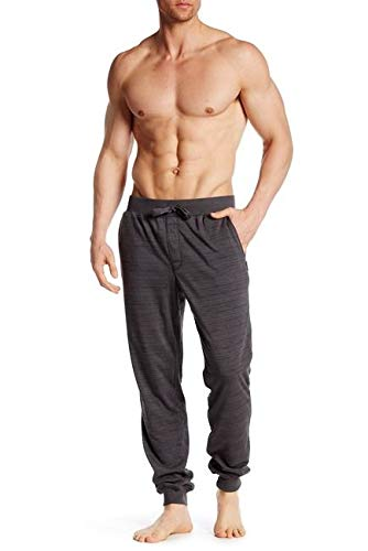 Bread and Boxers - Men's Heather Terry Jogger Pants (Medium, Medium ()