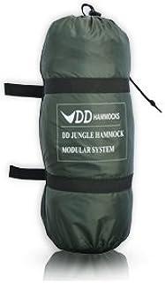 dd jungle hammock bivi modular camping system   new dd frontline hammock   lightweight camping jungle hammock with      rh   amazon co uk