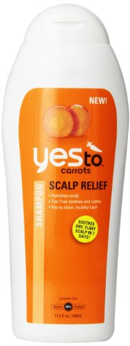 Yes To Carrots Scalp Relief Shampoo, 11,5 Fluid Ounce