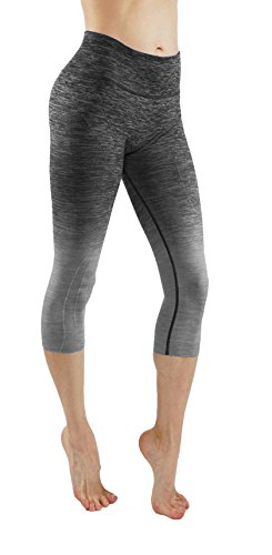 Vesi Star Women's Flexible Exercise Yoga Pants Workout Leggings XS-XXXL (Medium, VS/C705-BL.Gry) (Vs Yoga Pants Xs)