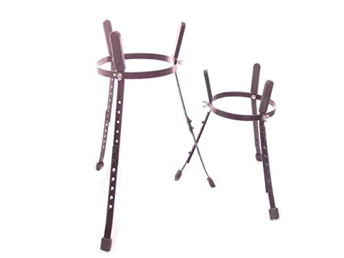 "Conga STAND PAIR -10"" + 11"" TWO DRUM STANDS drums NEW!"