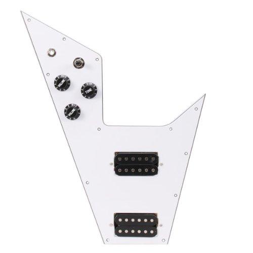 electric flying v guitar - 8