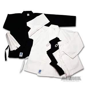 ProForce 5oz Ultra Light Weight Karate Gi / Uniform - Black - Size 0