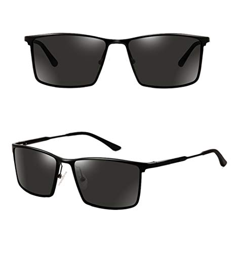 Los De Gafas La 2 De Conducción Tendencia Hombres De Gafas La Sol De WJYTYJ Polarizadas De Espejo Cuadradas De Gafas Deportes Los Conducción Pesca HD De Conductor Sol De Zfa8qwf0H