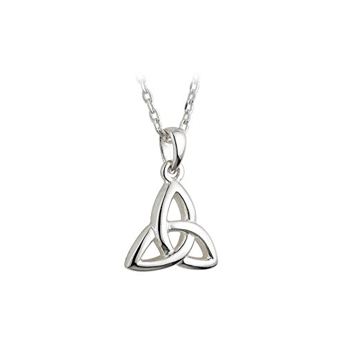 Kids Trinity Knot Necklace 925 Silver Irish Jewelry