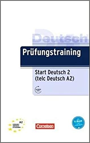 Buy Prufungstraining Daf Start Deutsch 2 Telc Deutsch A2 Ubungsbuch Mit Aud Book Online At Low Prices In India Prufungstraining Daf Start Deutsch 2 Telc Deutsch A2