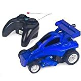 Radio Controlled Transforming Car Robot Wireless Remote Control Blue Hat RC High Speed Race Vehicle Controller