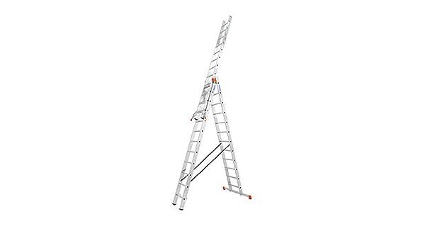 Krause 129789 Spro.Leiter - Escalera (3 escaleras, 3 x 12 cm): Amazon.es: Bricolaje y herramientas