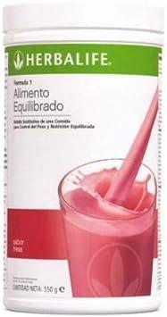 Batido Formula 1 Herbalife sabor FRESA 550 gr sustitutivo de ...