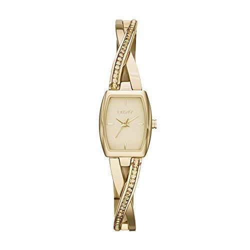 DKNY Women's NY2237 CROSSWALK Gold Watch