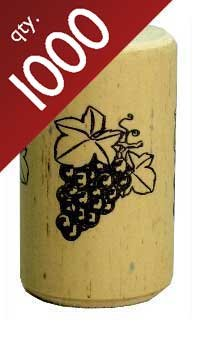Nomacorc Synthetic Wine Corks #9 x 1 1/2'',  Bag of 1000 by Midwest Homebrewing and Winemaking Supplies