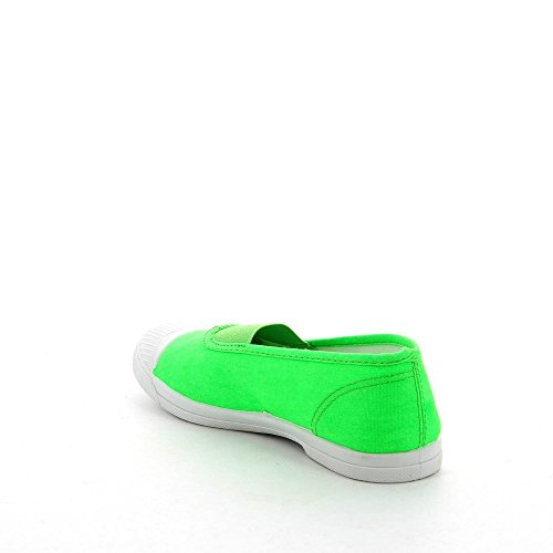 Ideal Shoes, Damen Sneaker Grün - grün