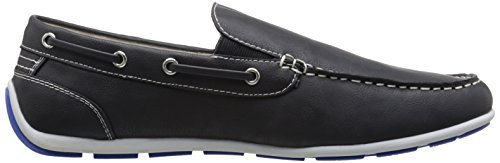 Gbx Mens Ludlam Slip-on Mocassino Blu Scuro