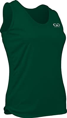 PT903W Women's Cut Light Weight Track Singlet-Moisture and Odor Control